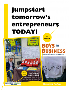 North Point School Boys in Business Fair