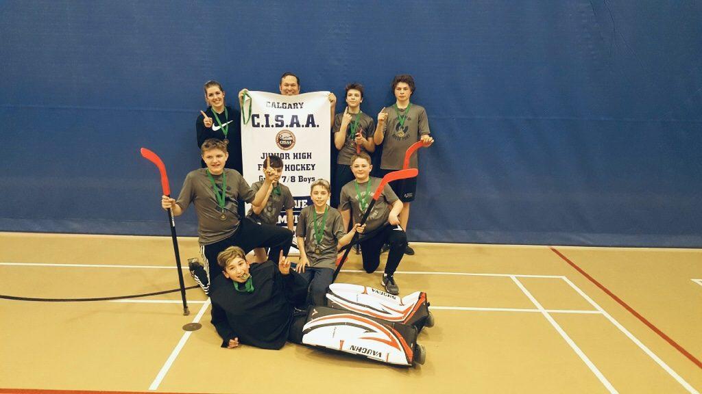 floor hockey 2019 banner